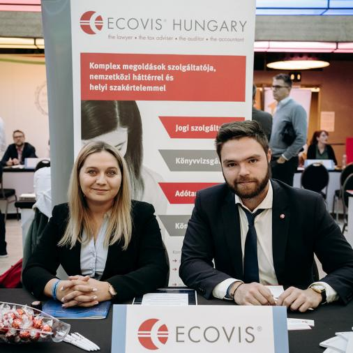 Ecovis Hungary Legal stand a Legal Fest 2019 rendezvényen