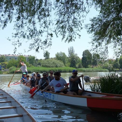 Dunai sárkánykenuzás