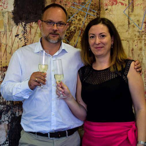 Celebration of 10-years anniversary of Veronika Sáfár